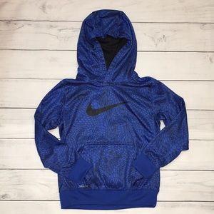 Boy Nike Hoodie Dry Fit Blue size 6